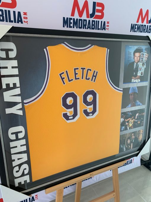 Chevy Chase Signed Authentic La Lakers