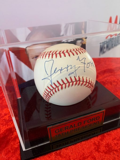 Gerald Ford 38th President of the United States Signed Official Baseball