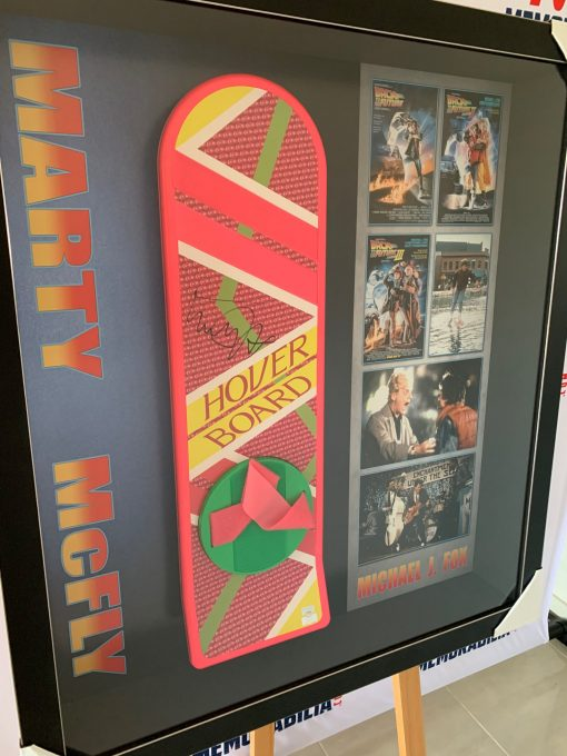Back to the Future 2 Signed Michael J Fox