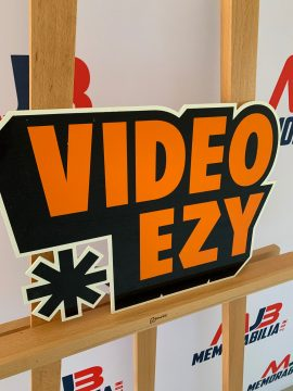 Vintage Video EZY sign