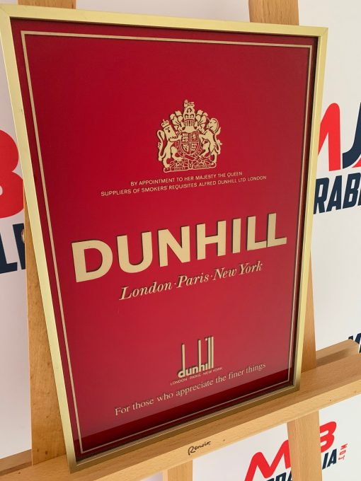 Vintage Dunhill Advertisement