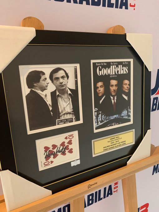 Authentic Signed Casino Playing Card Goodfellas